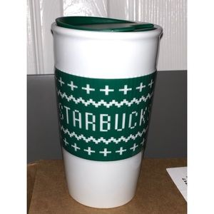 ☕️ Brand new 10 fl oz Starbucks Ceramic travel mug